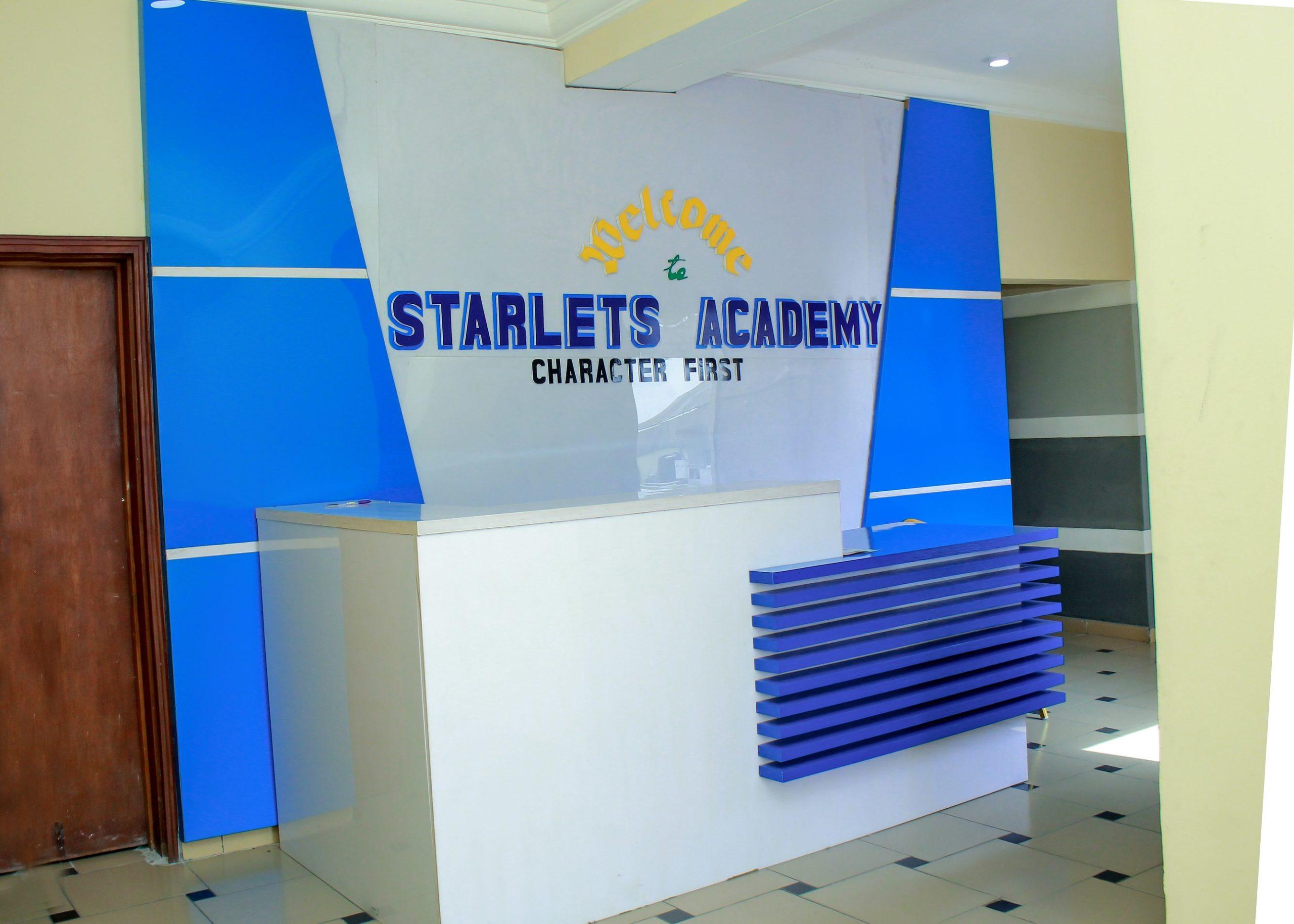 starlets academy main reception